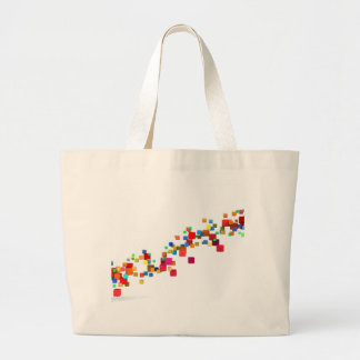 Blockchain Technology as a Creative Business Large Tote Bag