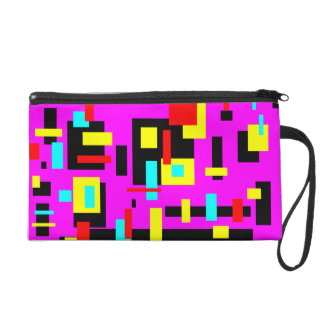 Blocked In Wristlet Clutch