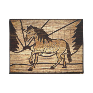 Blocked Unicorn Doormat