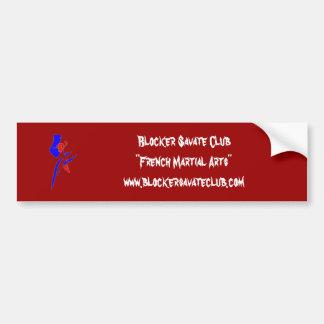 Blocker Savate Club Bumper Sticker
