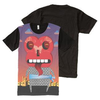 Blockhead All-Over Print T-Shirt