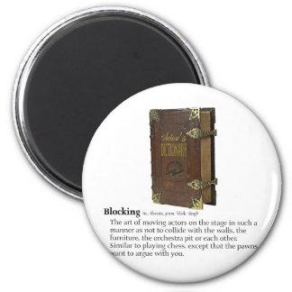 Blocking 6 Cm Round Magnet