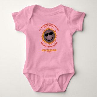 Blocking Out Your Sunshine Baby Bodysuit