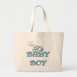 Blocks and Toys Baby Boy Jumbo Tote Bag