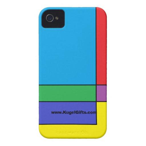 """""""Blocks"""" Case-Mate ID 4/4S Case-Mate iPhone 4 Case"""