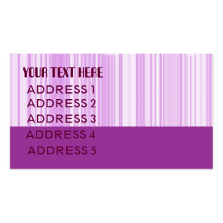 blocks n stripes lilac business card template