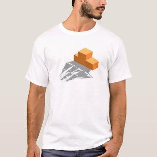 Blocks Pirate Ship T-Shirt