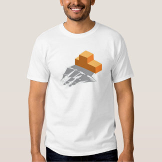 Blocks Pirate Ship Tee Shirts