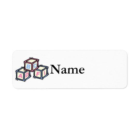 blocks return address label