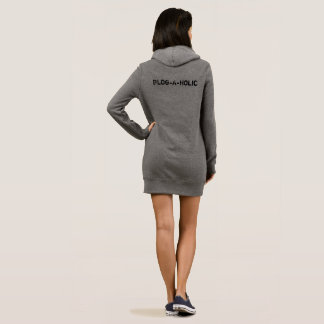 Blog-A-Holic Hoodie Dress