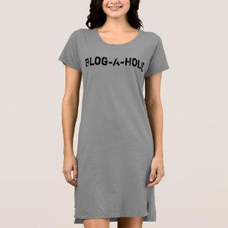 Blog-A-Holic T-Shirt Dress