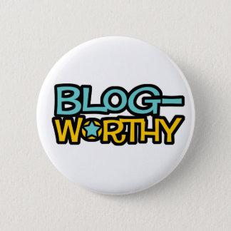 Blog Worthy Button