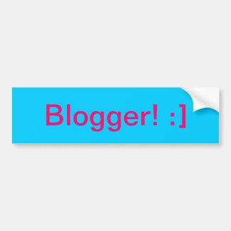 Blogger! Bumper Sticker