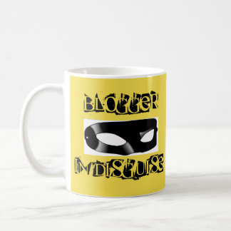 Blogger in Disguise mug