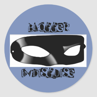 Blogger in Disguise sticker