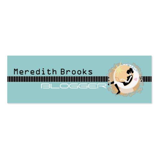 Blogger Profile Card Business Card Templates