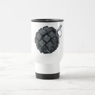 Bloggers grenade travel mug