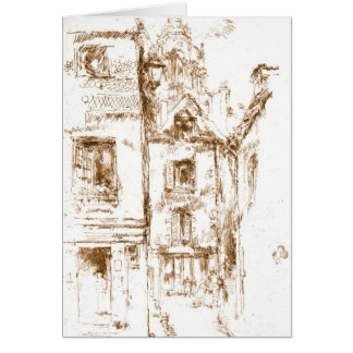 Blois Cathedral Neighborhood 1880 Greeting Card