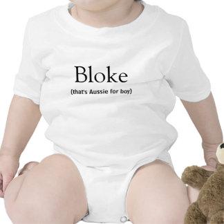 Bloke that s Aussie for boy Australian Slang Tee Shirts