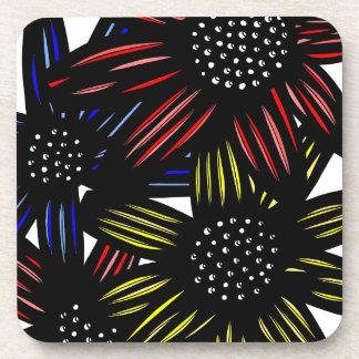 """""""Blom"""" Hard Plastic Coasters ( Set of 6)"""
