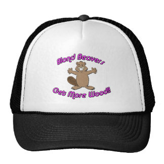 Blond Beavers Get More Wood Hats