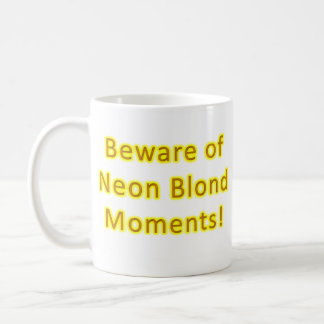 blond coffee mug