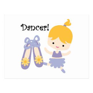 Blond Dancer Postcard