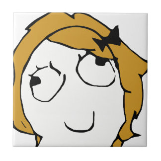 Blond Derpina Small Square Tile