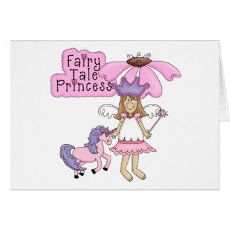 Blond Fairy Tale Princess Cards