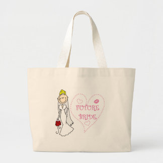 Blond Future Bride T-shirts and Gifts Bag