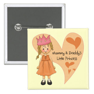 Blond Mommy and Daddy s Princess Pin