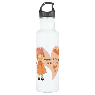 Blond Mommy and Daddy's Princess 710 Ml Water Bottle