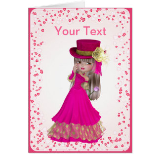 Blond Princess Greeting Card