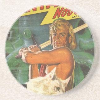 Blond Swordsman Coaster