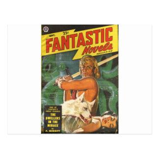 Blond Swordsman Postcard