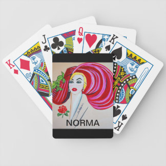 BLONDE AND BEAUTIFUL BICYCLE PLAYING CARDS