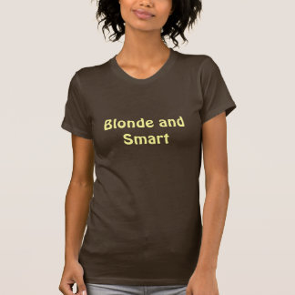 Blonde and Smart Tees