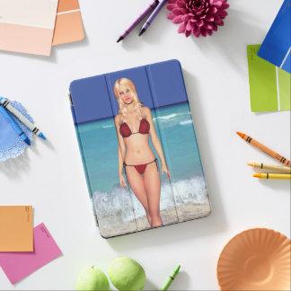 Blonde Bikini Beach Babe iPad Pro Cover