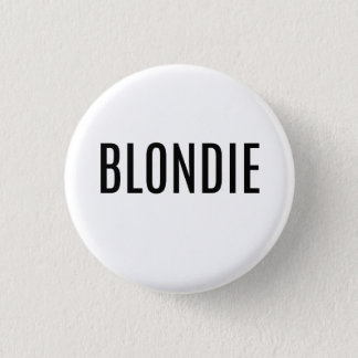 Blonde Button