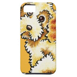 Blonde Cocker Spaniel Poodle Mix Tough iPhone 5 Case