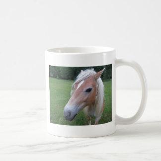 BLONDE HORSE COFFEE MUG