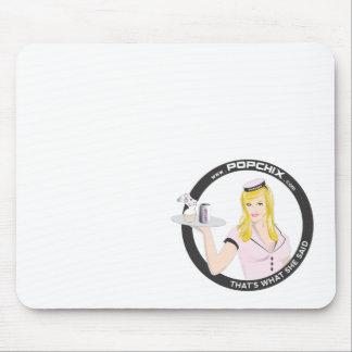 Blonde PopChiX Girl Mousepad