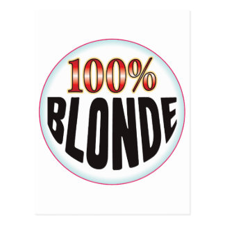 Blonde Tag Post Cards