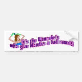 Blonde Truth Bumper Sticker
