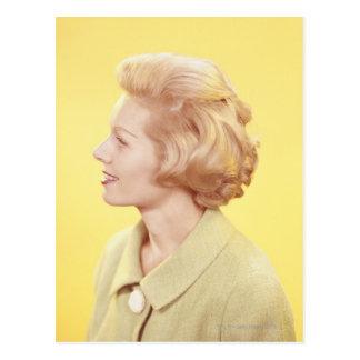 Blonde Woman 2 Postcard