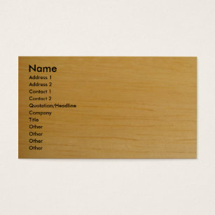 Light construction business cards business card printing zazzle blonde wood business card reheart Gallery