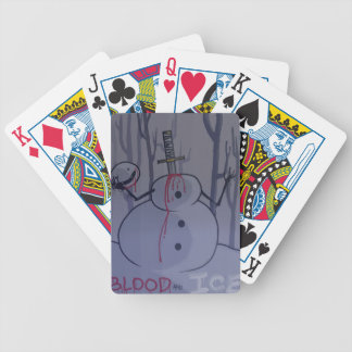 blood and ice tshirt desgin1 bicycle playing cards