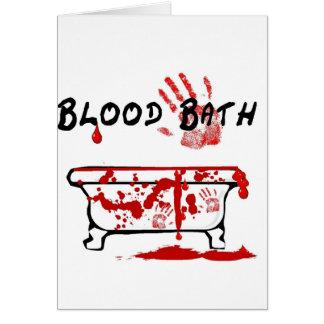 Blood Bath Card
