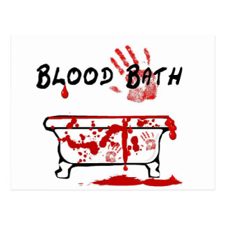 Blood Bath Postcard