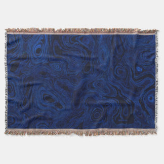 Blood Blue Fire Stone 1 Throw Blanket
